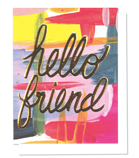 Hello Friend - Thimble Press