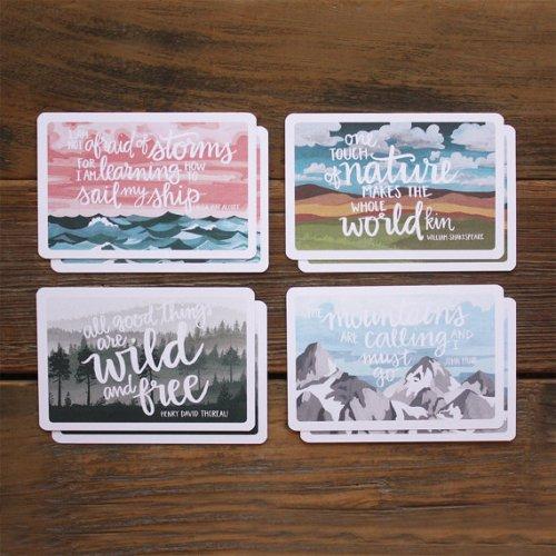 Scenic Postcard Set - 1canoe2